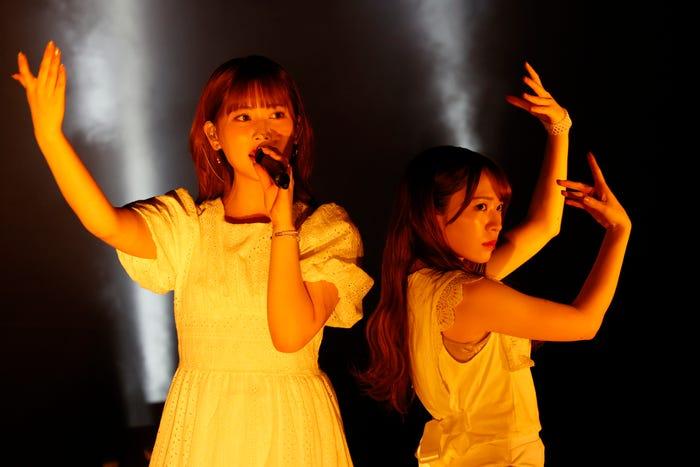 伊藤純奈、渡辺みり愛/「乃木坂46 アンダーライブ2021」(提供写真)