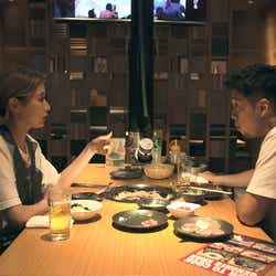 凌、愛華「TERRACE HOUSE TOKYO 2019-2020」19th WEEK (C)フジテレビ/イースト・エンタテインメント