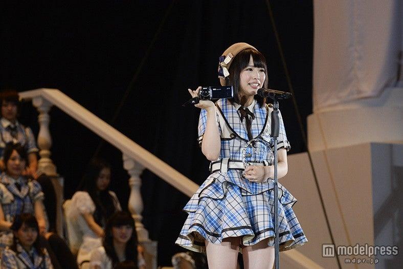 SKE48松村香織、順位発表「努力は必ず報われる」高橋みなみの名言に刺激<第7回AKB48選抜総選挙>(C)AKS【モデルプレス】