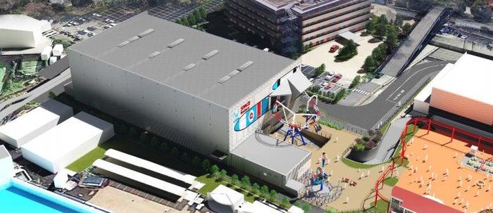 SPACE factory完成イメージ/画像提供:よみうりランド