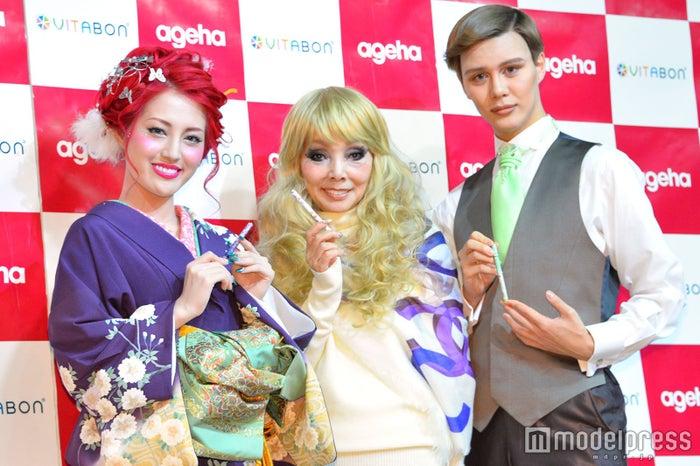 五月千和加、研ナオコ、Matt (C)モデルプレス