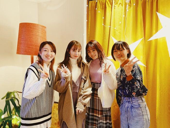 Yui、マーシュ彩、久間田琳加、Mei(提供写真)