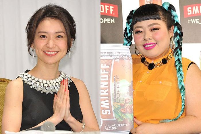 大島優子(左)のモテモテぶりを明かした渡辺直美(右)(C)モデルプレス