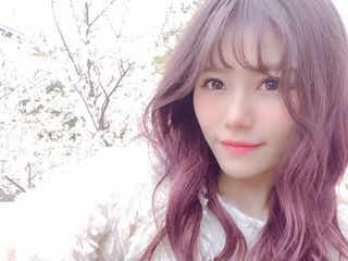 "AKB48込山榛香の""ピンク映え""春ヘアが可愛い「真似したい」と絶賛の声"