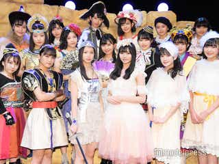 こぶしファクトリー&BEYOOOOONDS、舞台初共演 チームワークは「ばっちり!」<リボーン~13人の魂は神様の夢を見る~>