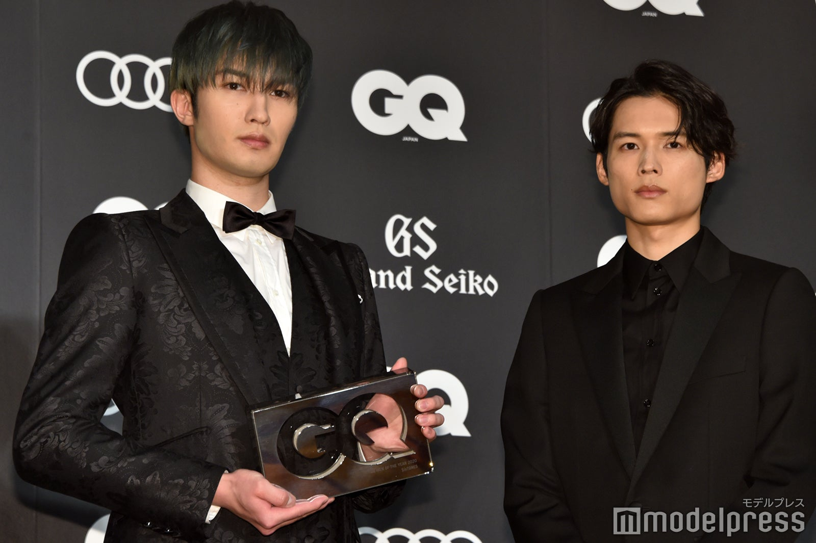 SixTONESジェシー&松村北斗が登壇「今度は個人で全員頂けたら」<GQ MEN OF THE YEAR 2020>