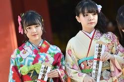 由良朱合、小川結夏/AKB48グループ成人式記念撮影会 (C)モデルプレス