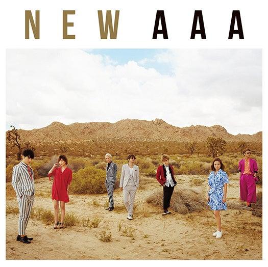 AAAの51枚目のシングル『NEW』(6月8日発売)FC限定