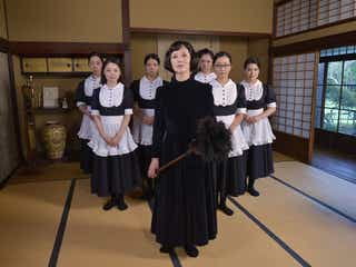 TOKIO松岡昌宏、初メイド服で夏木マリと対峙「しっくりきてるかも」