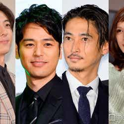 (左から)高橋一生、妻夫木聡、窪塚洋介、加藤あい (C)モデルプレス