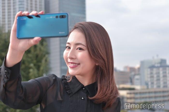 カメラ機能も充実の「HUAWEI P20 Pro」(C)モデルプレス