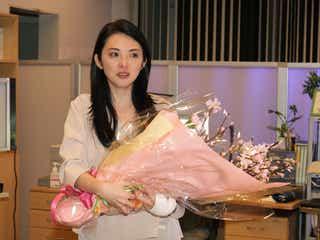 田中麗奈が涙「お別れするのは寂しい」「幸せな2ヶ月間」