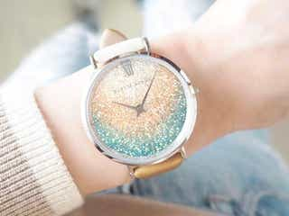 夏は手元にキラキラを。上品なストーンがきらめくオシャレ腕時計