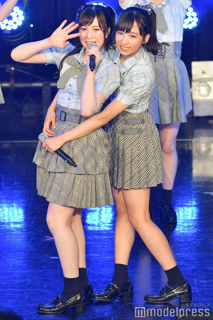 永野芹佳、小栗有以/AKB48チーム8「TOKYO IDOL FESTIVAL 2018」 (C)モデルプレス
