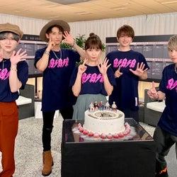 AAA、デビュー15周年記念日に集結 ファンに感謝伝える