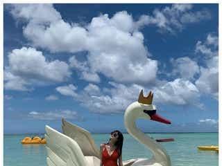 「non‐no」鈴木優華、美ボディ際立つSEXY水着ショットに「ドキッとした」「完璧なスタイル」と反響
