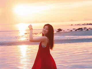 今田美桜、ドラマチックなカット公開 写真集裏表紙決定