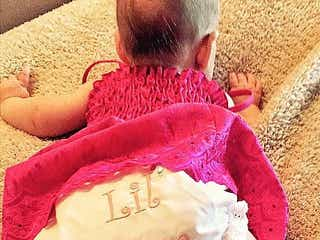 クリスティーナ・アギレラ、長女サマー・レインちゃんの写真を初公開