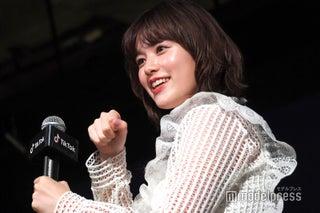 """筧美和子、初TikTokで""""パンケーキ食べたい""""挑戦 「大丈夫かな~」"""