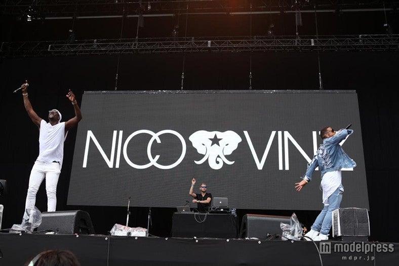 NICO&VINZ、ユーモラスで激しいパフォーマンス披露『Am I Wrong』でステージ熱狂へ<SUMMER SONIC 2015>【モデルプレス】