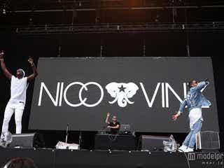 NICO&VINZ、ユーモラスで激しいパフォーマンス披露『Am I Wrong』でステージ熱狂へ<SUMMER SONIC 2015>