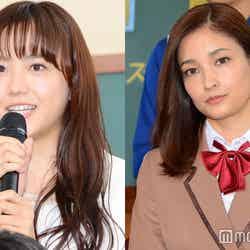 (左から)松井愛莉、黒木メイサ (C)モデルプレス