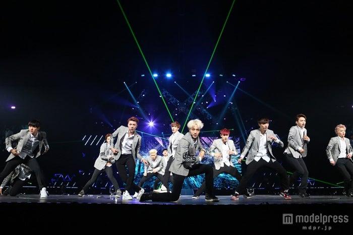 """来日イベント「EXO Greeting Party in Japan """"Hello!""""」を開催したEXO"""
