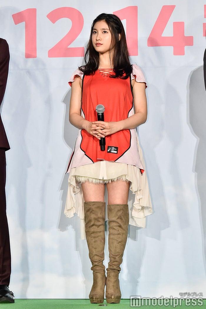 映画「春待つ僕ら」プレミア試写会舞台挨拶に登壇した土屋太鳳 (C)モデルプレス