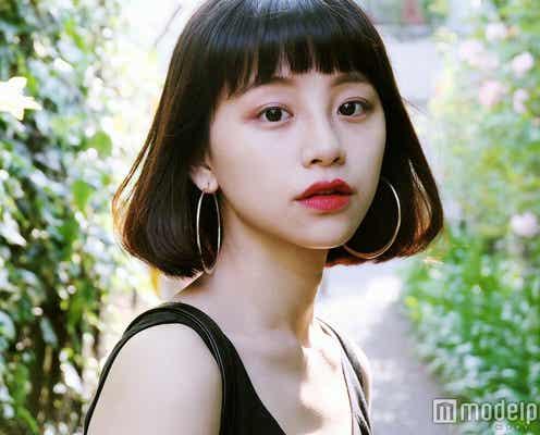 【注目の人物】ぱっつんボブ×やみつき愛されフェイスに熱視線!中国出身のマルチ美女モデル・る鹿