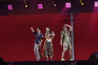 DANCE EARTH PARTY、初a-nationでキッズダンサー迎えた華やかステージ