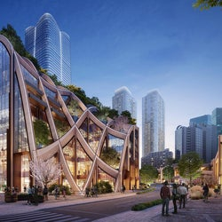 """虎ノ門・麻布台エリアに""""ヒルズの未来形""""2023年度竣工、高さ日本一のビル&日本初進出ホテル計画も"""