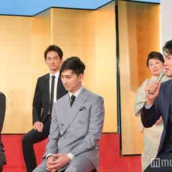 玉山鉄二、松田翔太、鈴木亮平 (C)モデルプレス
