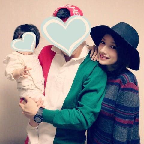 後藤真希と家族(提供画像)