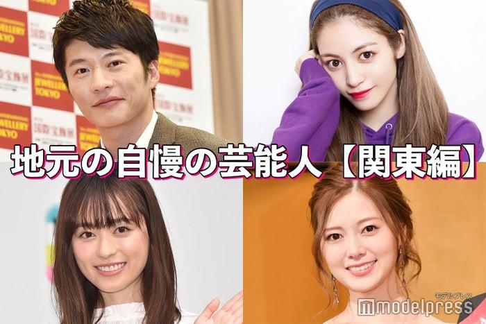(左上から)田中圭、楓(左下から)福原遥、白石麻衣(C)モデルプレス