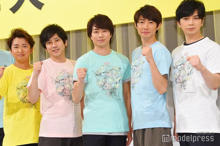 メインパーソナリティーを務める嵐(左から)大野智、二宮和也、櫻井翔、相葉雅紀、松本潤(C)モデルプレス