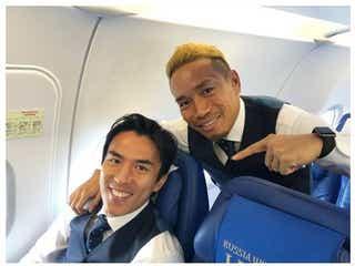 サッカー長友佑都、代表引退の長谷部誠への思いを明かす 10年間代表で戦った仲間