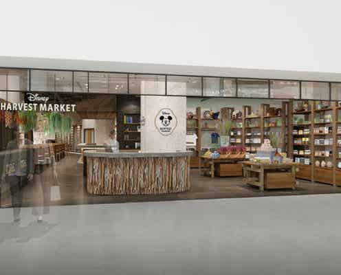 「ディズニー・ハーベスト・マーケット」渋谷に新カフェ&ギフトショップが誕生