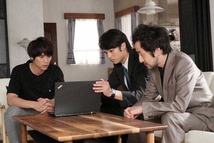 福士蒼汰、佐伯大地、矢柴俊博/「愛してたって、秘密はある。」最終話より(画像提供:日本テレビ)
