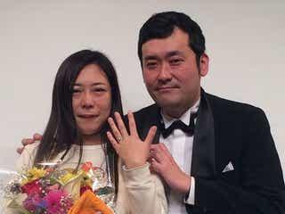 椿鬼奴が結婚!グランジ佐藤大のサプライズプロポーズ成功『なら婚』で完全密着