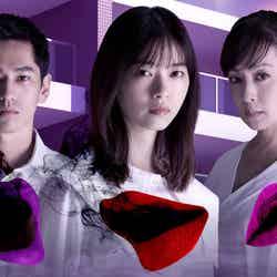 「言霊荘」(左から)永山絢斗・西野七瀬・斉藤由貴 (C)テレビ朝日