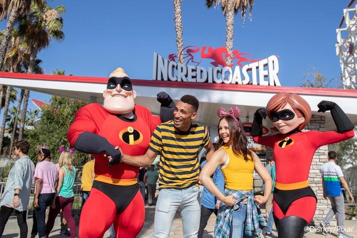インクレディブル・ファミリーとゲスト(C)Disney/Pixar