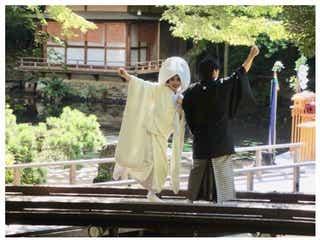 """平野ノラ、挙式を報告""""幸せオーラ全開""""白無垢姿に反響「和装美人」「いい笑顔」"""