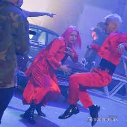 A-NON、SHUHO/吉本坂46RED「君の唇を離さない」MV撮影風景(C)モデルプレス