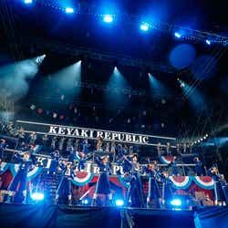 欅坂46/ 「欅共和国2019」7月6日公演/撮影:上山陽介