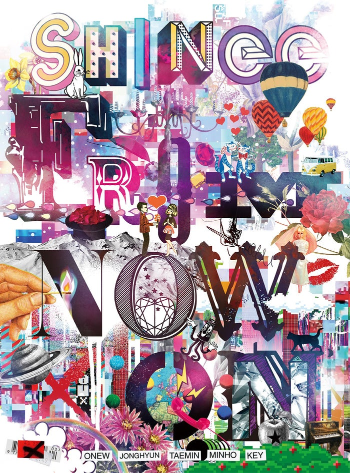 『SHINee THE BEST FROM NOW ON』(2018年4月18日発売)初回限定盤(提供写真)