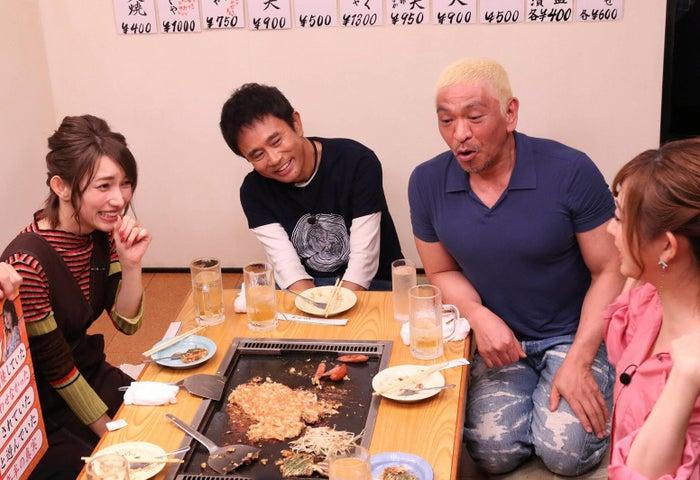 後藤真希(左)がぶっちゃけトーク(C)フジテレビ