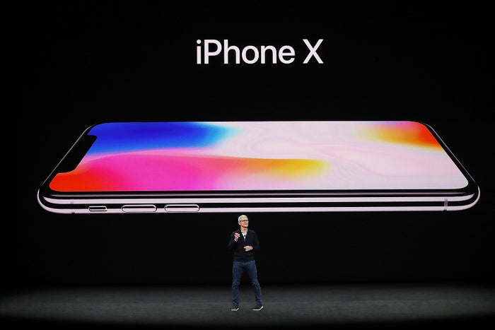 Apple、「iPhone X」を発表/Photo by Getty Images