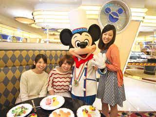 ディズニー、シェフ姿のミッキーに会えるレストラン!7月からランチタイム延長