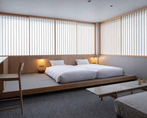 「MIROKU 奈良 by THE SHARE HOTELS」五重塔を望む客室&鹿を眺める開放的なテラス