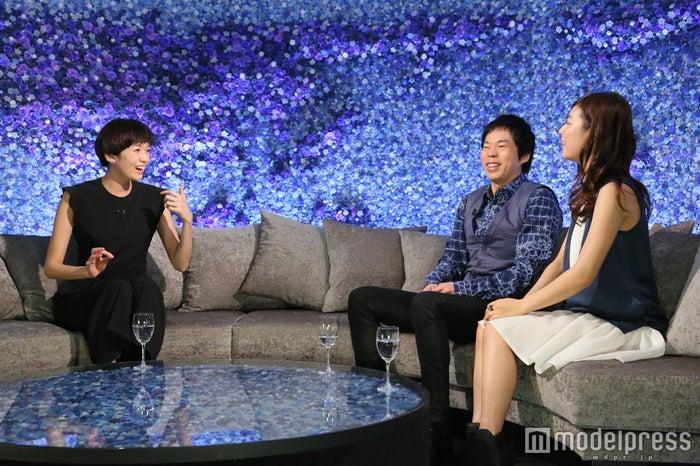 (左から)佐藤栞里、今田耕司、瀧本美織/画像提供:日本テレビ